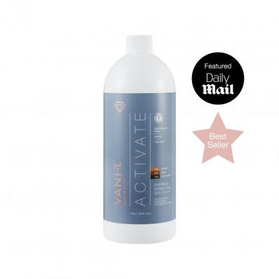 Vani-T Activate Spray Tan Vloeistof - (naturel bruine teint) (1 Liter)